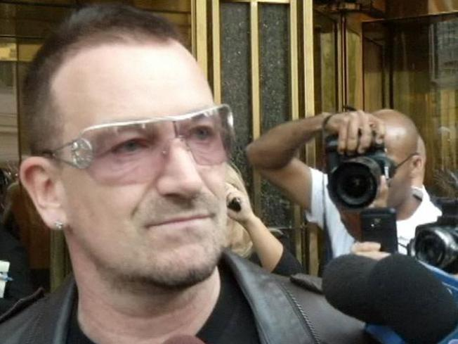 Bono's Back Injury Leaves U2 Tour in Peril