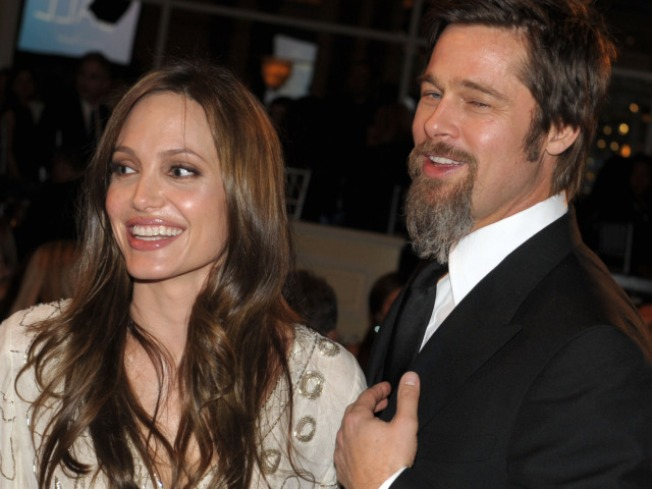 Brad & Angelina Make Red Carpet Appearance At DGAs
