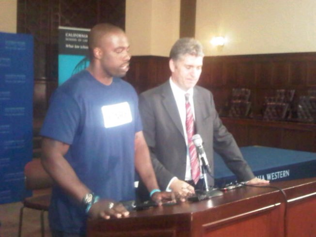SD Lawyers Help Exonerate Wrongly Convicted Football Player