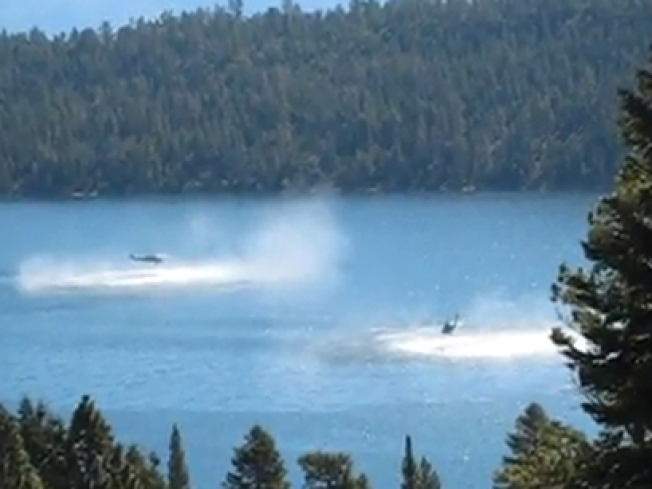 New Details From Choppers' Dip in Lake Tahoe