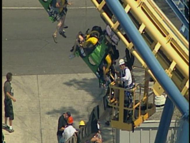 Dozens Trapped on Stuck Coaster