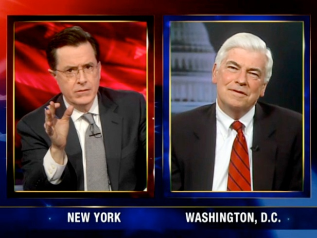 Dodd, Colbert, the Supreme Court and Doritos