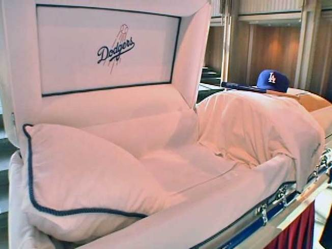 Rest in Peace and Dodger Blue