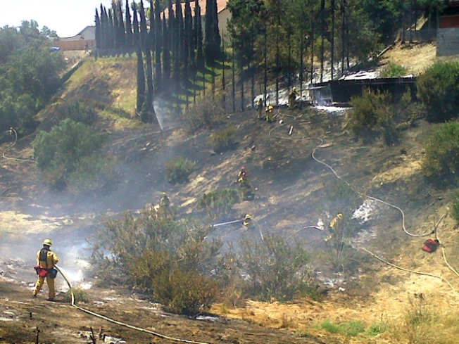 Canyon Fire Prompts Evacuations