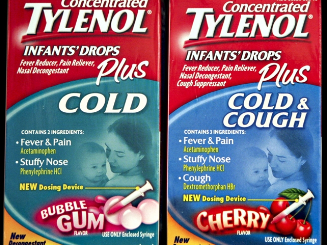 Makers of Tylenol Recall Some Kids Medicines