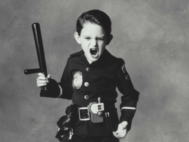 Fake Kid Cop Busted for Third Time