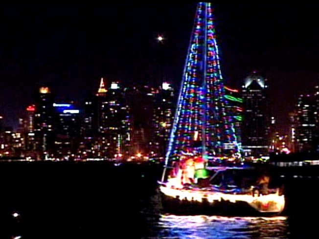 Holiday Spirit Hits the Water