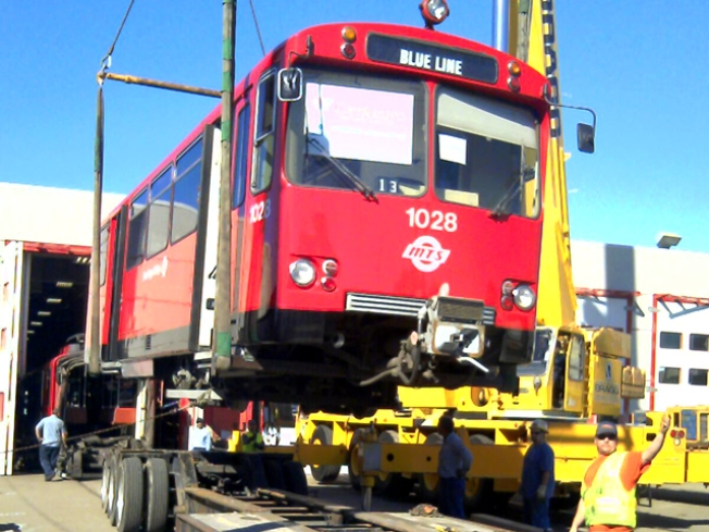 San Diego Trolleys Move to Argentina