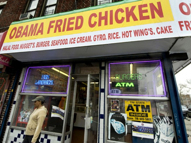 """Obama Fried Chicken"" Sign Cut From Rap Video"