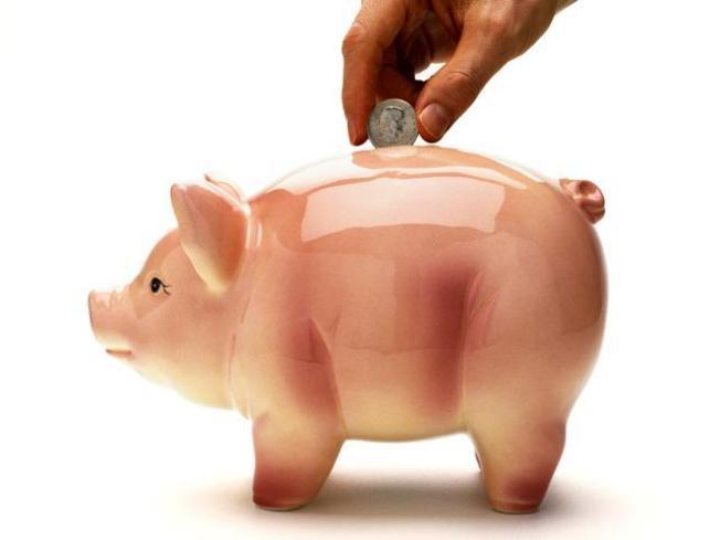 Piggy Visits Bank