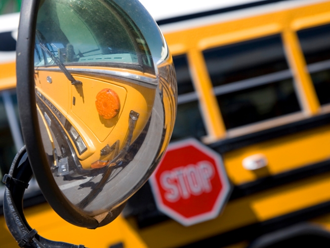 Shot Fired at School Bus