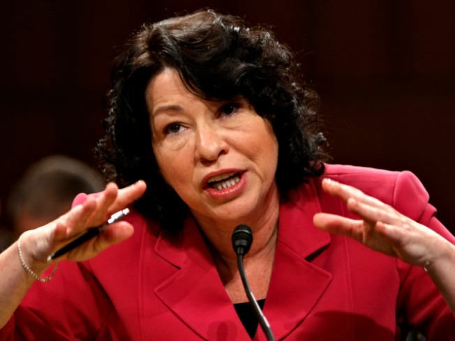 Sotomayor tops Senate sprint to recess