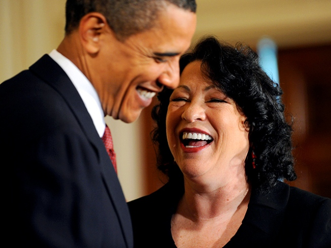 Sotomayor Officially Takes Supreme Seat