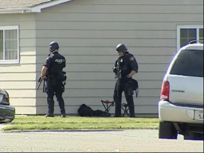 Police Engage in 17-Hour Standoff With Empty House