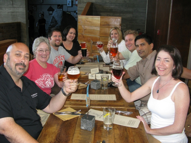 Stone Brewery Gets Three Cheers