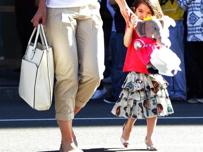 Katie Holmes Defends Suri Cruise Wearing High Heels