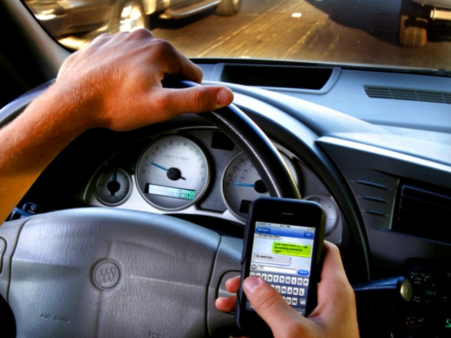 Driving While In-text-icated Could Get Serious