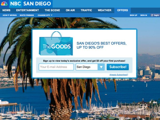 NBC San Diego Launches Curated Offers