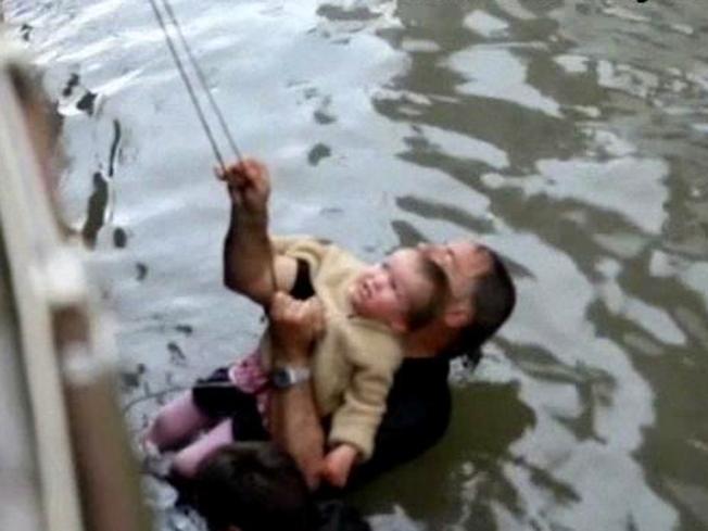 Vista Dad Risks Life to Save Toddler in River Rescue