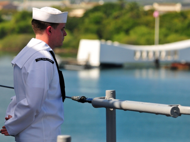 USS Pearl Harbor Honors Namesake on Day of Infamy