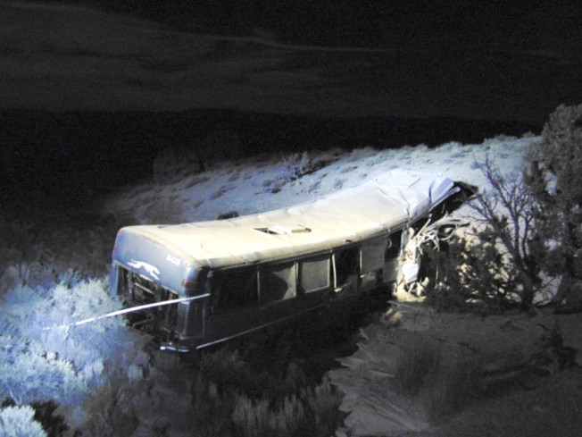 Bus Crash in Rural Utah Kills 13-Year-Old, Injures 12 Others