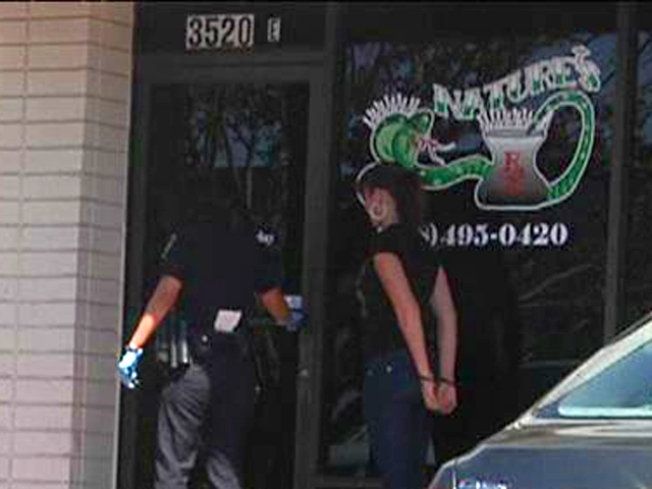 Cops Raid Marijuana Dispensaries Around County