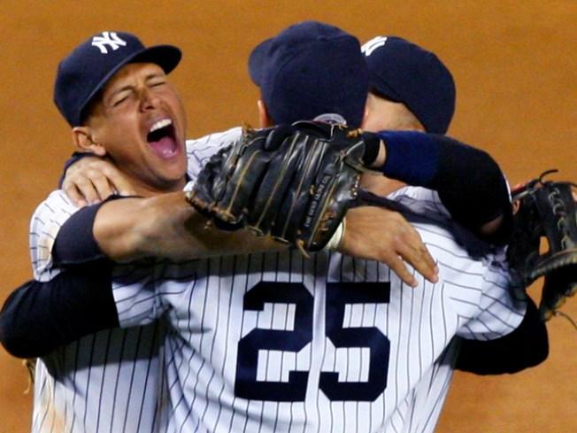 Yankees Clinch American League Pennant