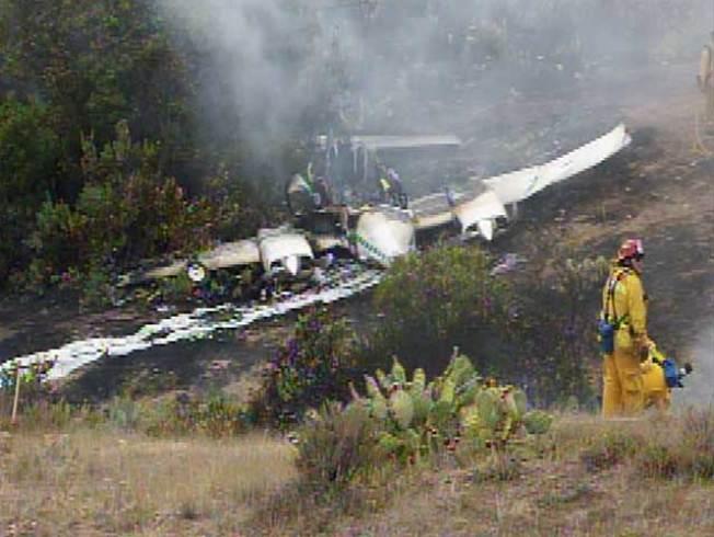 Three Injured in Catalina Island Plane Crash