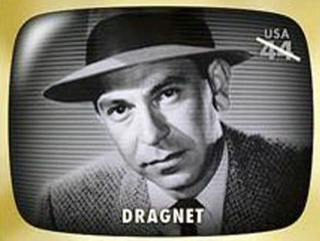 "Just the Facts: ""Dragnet"" Stamp on Sale"