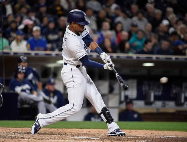 Padres Trail in Brewers Series 2-1