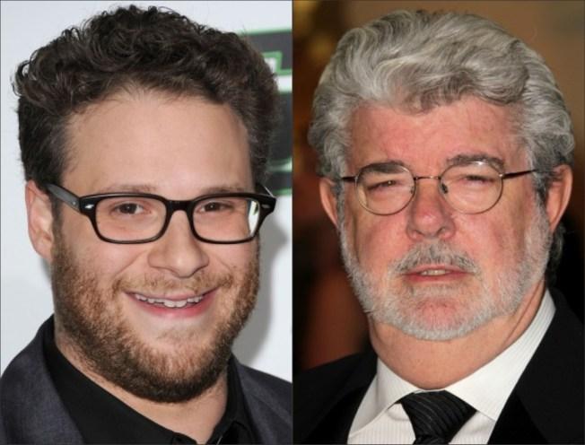 George Lucas Tells Seth Rogen of Coming Apocalypse