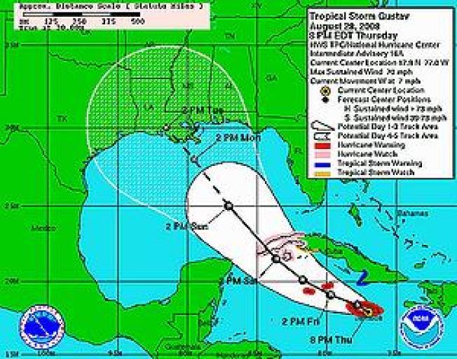Gulf Coast Prepares to Evacuate Ahead of Hurricane Gustav