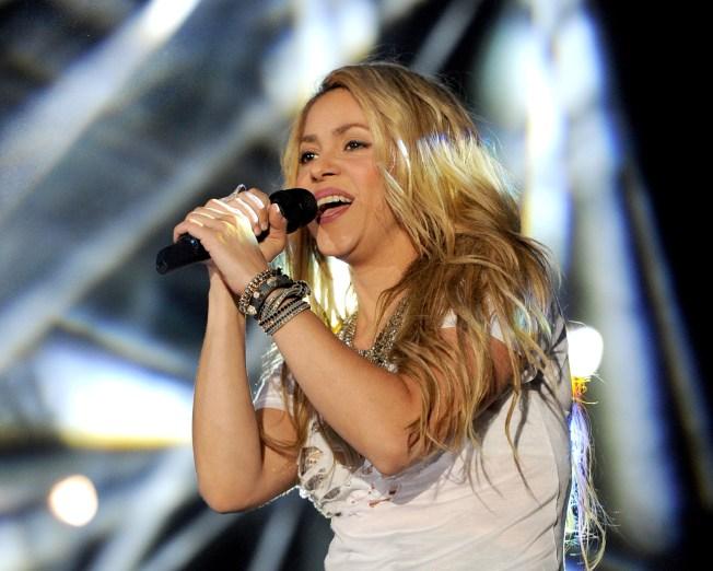 Shakira Reschedules San Diego Show