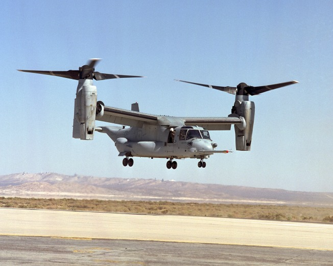 Osprey Flying Back To MCAS Miramar