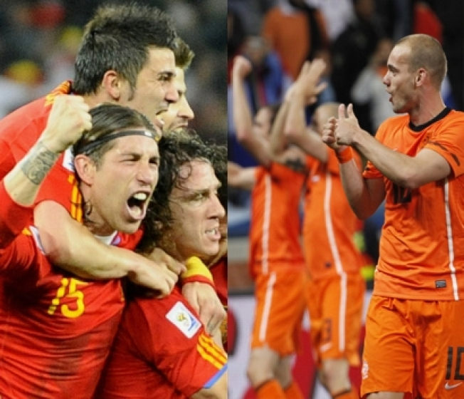 World Cup Final Preview:  Netherlands v. Spain