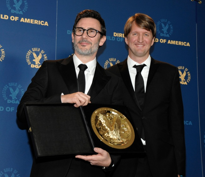 """Artist"" Director Wins Top Prize at Guild Awards"