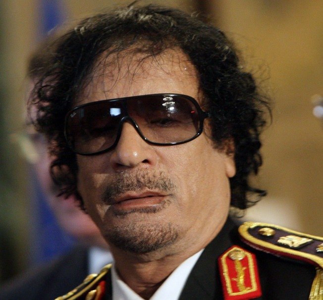 Gadhafi Cast Out of Garden (State): Source