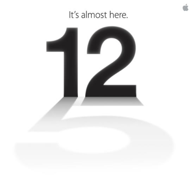 Apple's Invite Hints of iPhone 5
