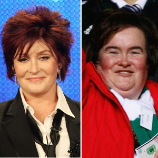 "Sharon Osbourne On Susan Boyle: ""You Want To Say God Bless & Here's A Gillette Razor"""
