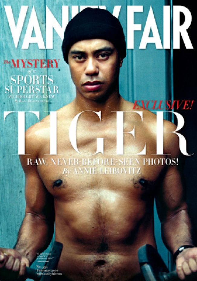 Tough Guy Tiger: Woods Goes Shirtless for Mag
