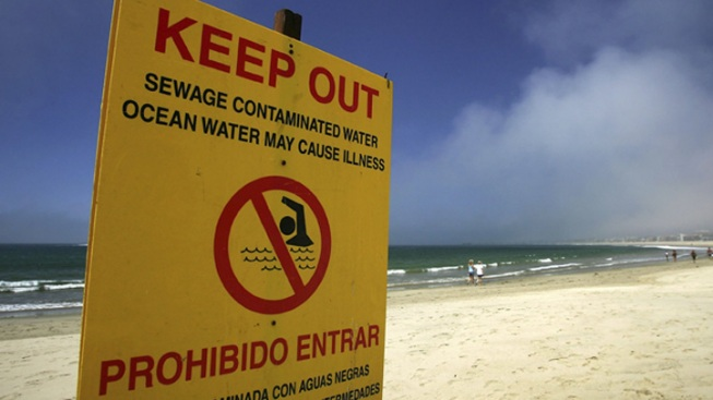 Major Sewage Spill Closes Beaches