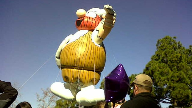 Big Balloons Float Into Town