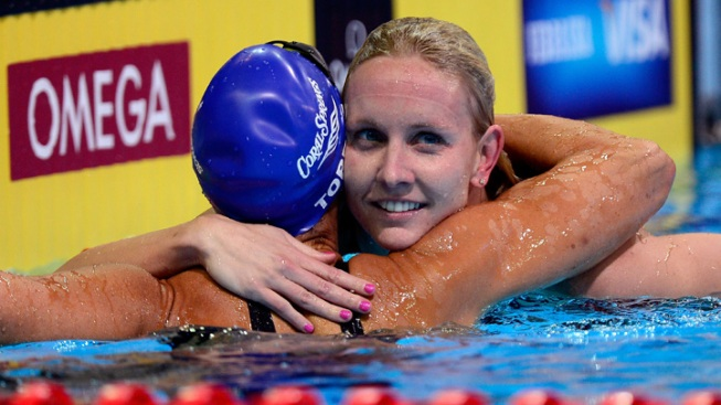 At 45, SoCal Swimmer Torres Advances in U.S. Olympic Trials