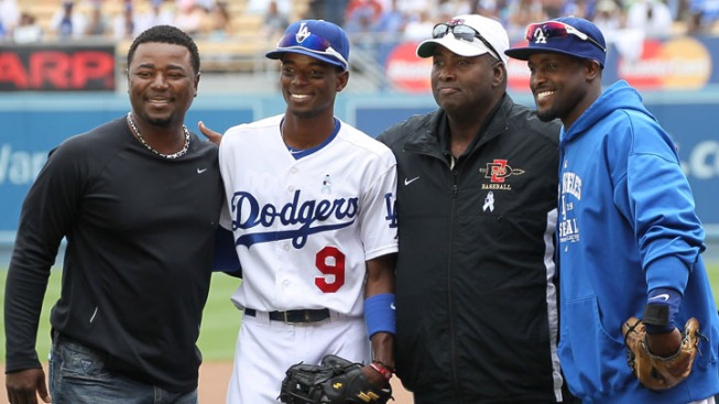 Tony Gwynn Jr. Called Dad on Father's Day