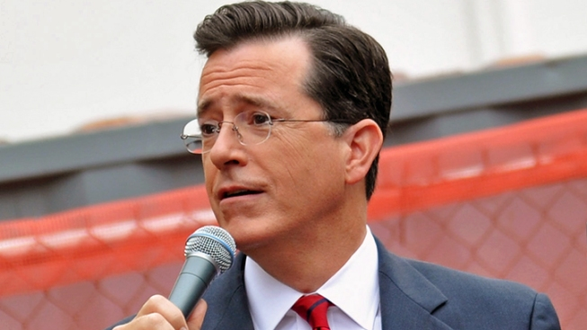 "Stephen Colbert Mocks Mitt Romney's ""Latino Problem"""