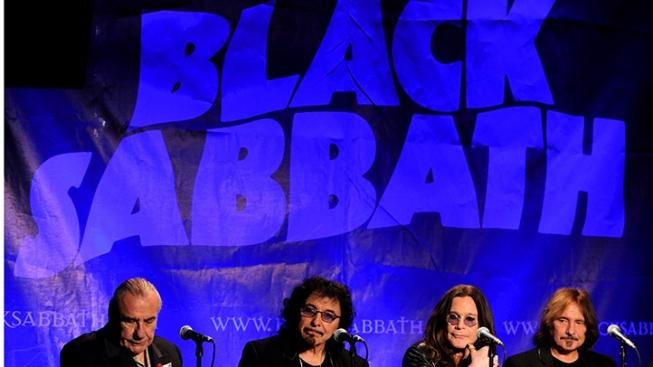 Black Sabbath Tops Billboard 200 for 1st Time