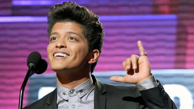 Bruno Mars Ready for Grammys, Super Bowl