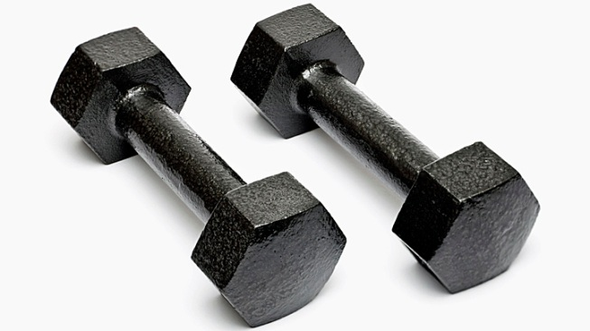 Weightlifter Says He Shot Himself by Dropping Dumbbell on Bullet