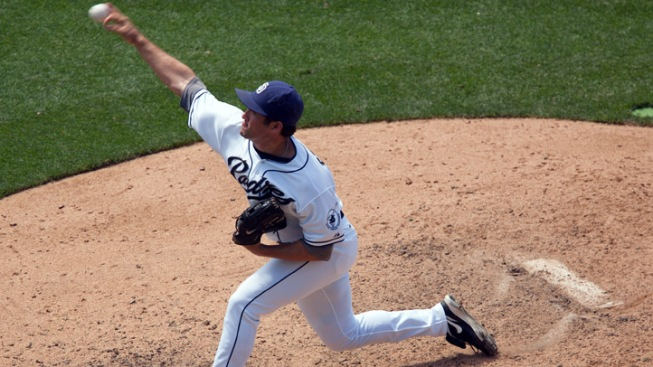 Padres Pound Visiting Cubs