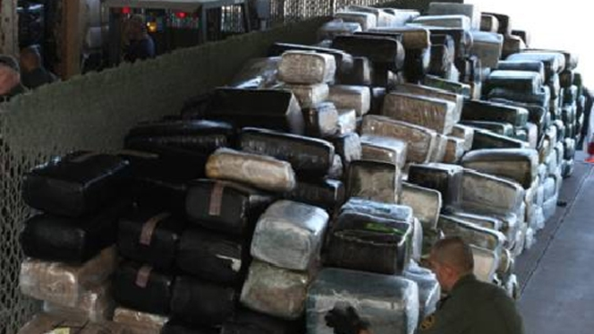 El Centro BP Bust Lands Over 14 Tons of Pot